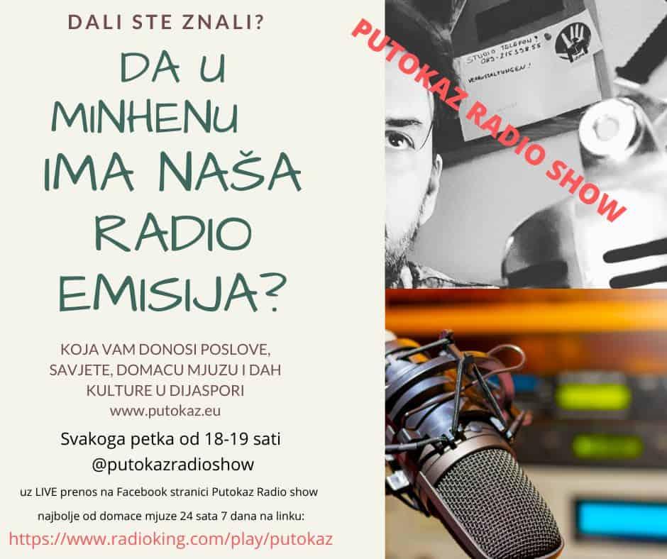 Svaki petak – Putokaz radio show